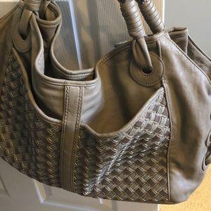 Big Buddha Large Handbag - Taupe/Gray/Beige color